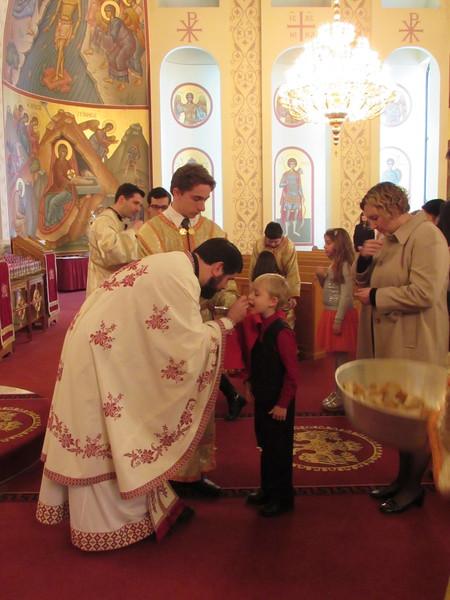 Liturgy & Vasilopita
