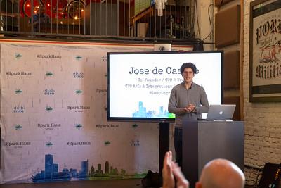#SparkHaus Jose de Castro @loopingrage #SparkHaus