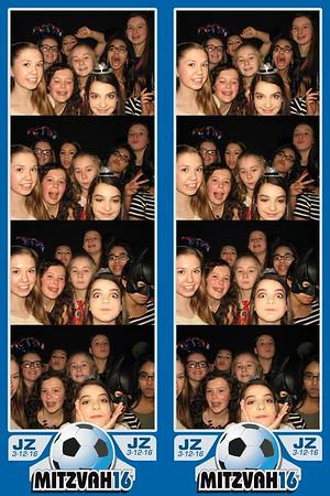 Josh's Bar Mitzvah March 12, 2016
