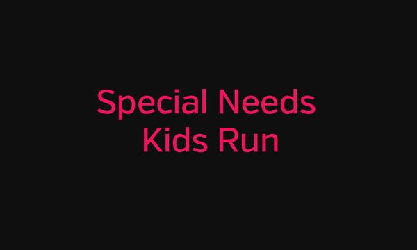 Special Needs Kids Run