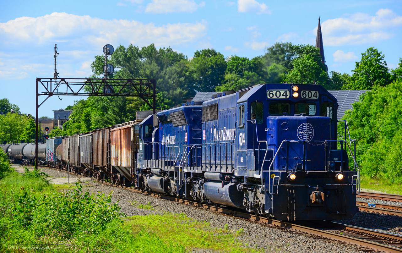 Eastbound RJED passes through CPF 385 in Greenfield on June 18, 2016.