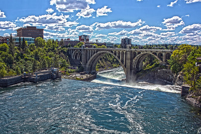 Downtown Spokane....