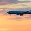 BA flight 215 arriving in Boston.