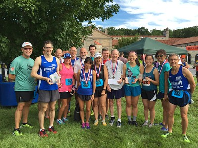 Striders at Ellicott City Labor Day Running Classic 10k and 5k