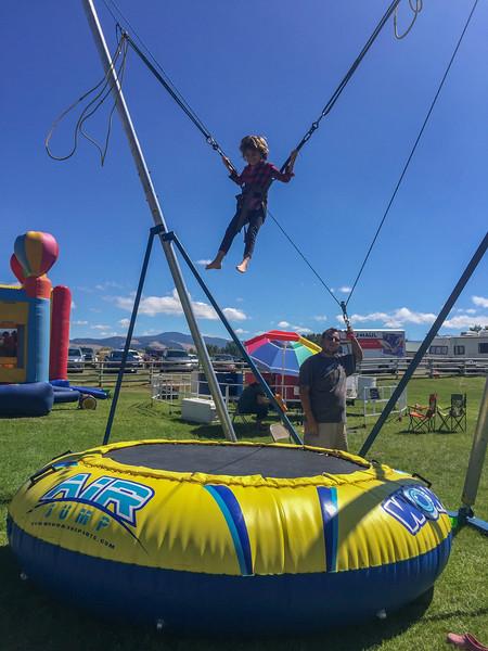 At the county fair, Deer Lodge MT