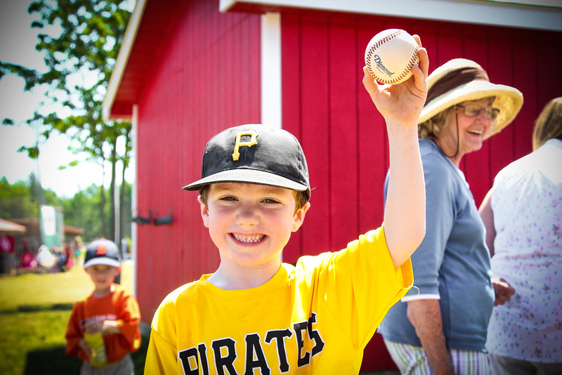 Henry and his game ball