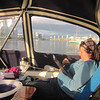 Anchoring in Vancouver.