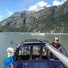 Drifting through Tracy Arm towards Sawyer Glacier.