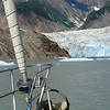 Sawyer Glacier in Tracy Arm south of Juneau, Alaska.