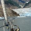 Sawyer Glacier in Tracy Arm south of Juneau, Alaska.