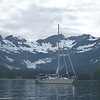 Hello World anchored in Cannery Cove.