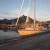 At the public dock in Sitka, Alaska.