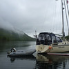 Anchored in Codville Lagoon in northern British Columbia
