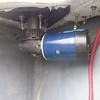 Windlass motor mount.