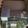 6 gallon hot water heater mounted beneath the quarterberth