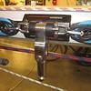 Spinnaker pole mounting car.
