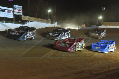 Mack McCarter (51), Tim McCreadie (39), Dennis Erb, Jr. (28), Darrell Lanigan (15) and Steve Francis (15)