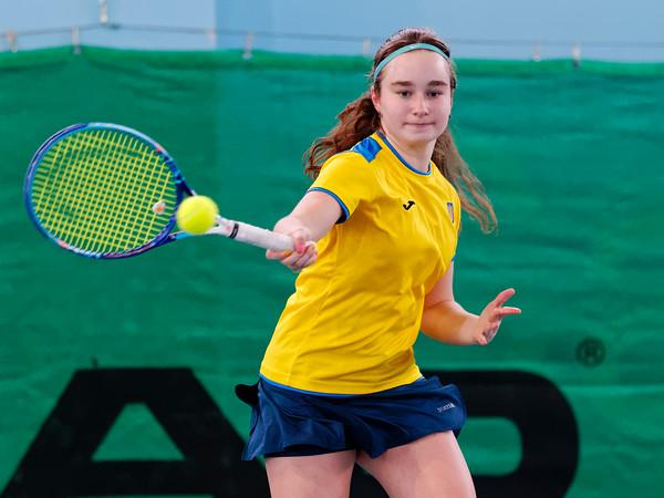 101b Daria Snigur  - Team Ukraine - Tennis Europe Wintercups final girls 14 years and under 2016