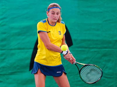 102b Marta Kostyuk  - Team Ukraine - Tennis Europe Wintercups final girls 14 years and under 2016