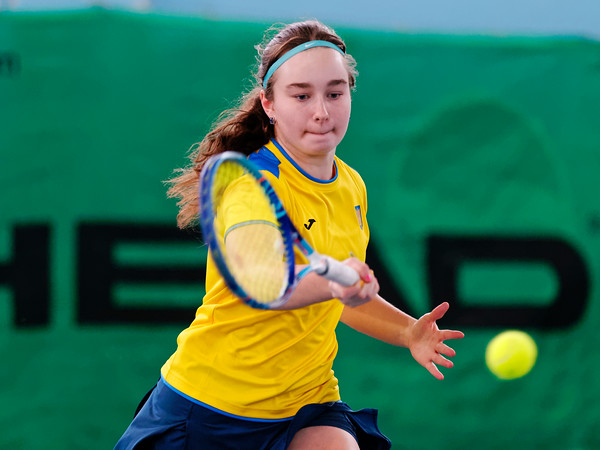 101 Daria Snigur  - Team Ukraine - Tennis Europe Wintercups final girls 14 years and under 2016