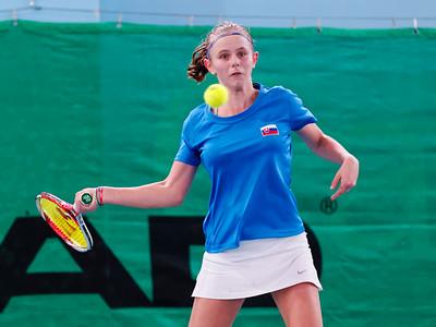 104 Nina Stankovska - Team Slovak Republic  - Tennis Europe Wintercups final girls 14 years and under 2016