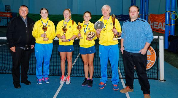 107 Winner  - Team Ukraine - Tennis Europe Wintercups final girls 14 years and under 2016