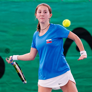 106b Romana Cisovska - Team Slovak Republic  - Tennis Europe Wintercups final girls 14 years and under 2016