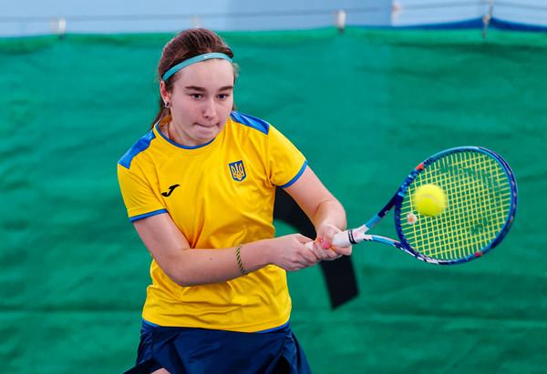 101a Daria Snigur  - Team Ukraine - Tennis Europe Wintercups final girls 14 years and under 2016