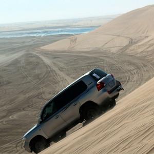 Exploring the sand dunes near Doha, Qatar – Josef Rokus