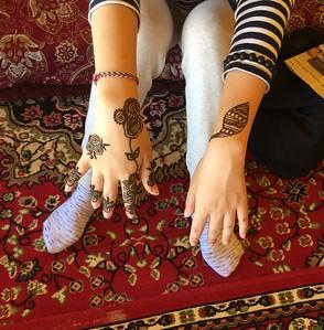 Henna in Al Wakrah, Qatar - Bridget St. Clair