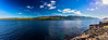 Pano of Loch Ness - tough to get rid of the sun flares