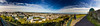 Panorama of Edinburgh New Town and Leith - Two cheeky women photobombed me