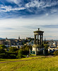 Another, closer view of Dugald Stewart Monument