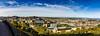 Panorama of Edinburgh New Town