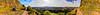 360 degree panorama from the Radical Road near Arthur's Seat