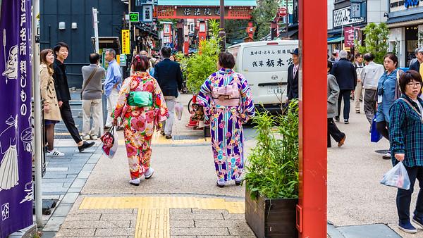 Kimonos in Tokyo