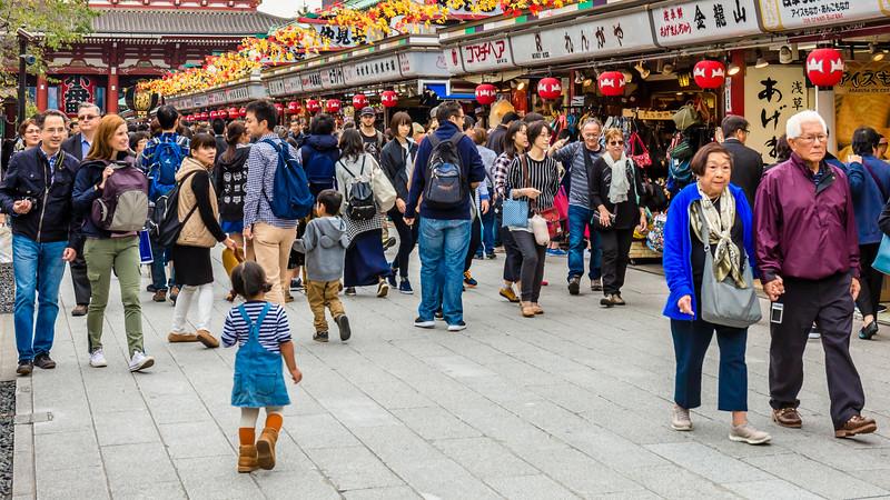 Asakusa Market, Tokyo