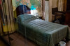 Winnie's bedroom - apparently he preferred sleeping upstairs, despite the danger