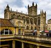 Bath Abbey from baths