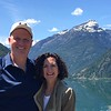 The Clements in front of Davis Peak - North Cascades loop