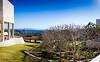 Mini-panorama of Getty Museum garden