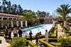 Outer garden, pool