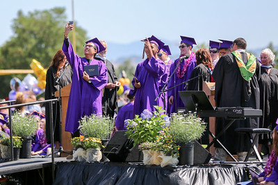 Ukiah High School 2016 Graduation