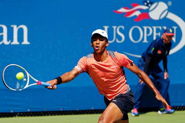 03 Felix Auger-Aliassime - Us Open juniors 2016