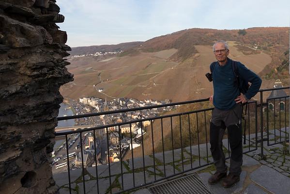 Moselsteig, Monzel- Bernkastel, burg landshut