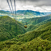 View from Fansipan Legend Cable Car Ride