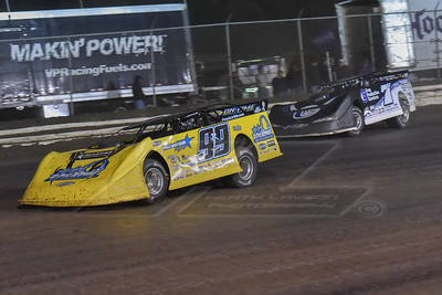 Frank Heckenast, Jr. (99JR) and Jared Landers (777)