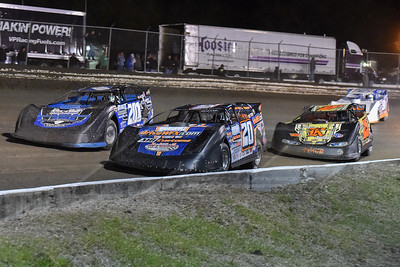 Rodney Sanders (20), Billy Ogle, Jr. (201), Shane Clanton (25), and Steve Casebolt (C9)