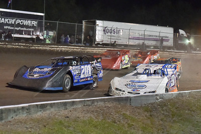 Steve Casebolt (C9), Billy Ogle, Jr. (201), Shane Clanton (25), Mark Whitener (5) and Tim McCreadie (39)