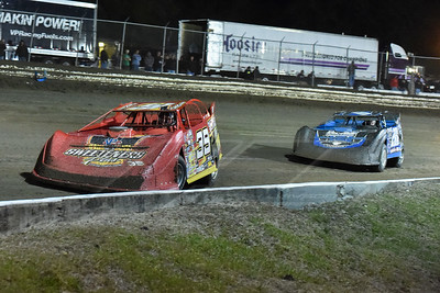 Tim McCreadie (39) and Billy Ogle, Jr. (201)